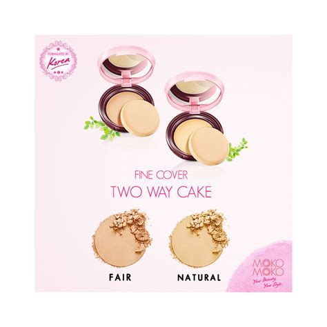 Bedak Wardah Two Way Cake Cover cover two way cake fair