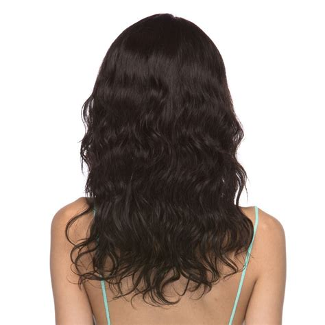 and wavy human hair long and wavy 100 human hair lace front wig becca