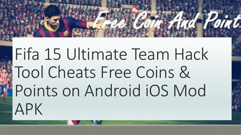 tutorial fifa 15 ut android ultimate team hack coins
