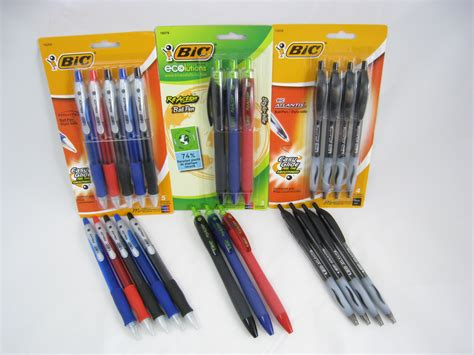 Office Desk Black Bic Easy Glide Ink System And Another Giveaway