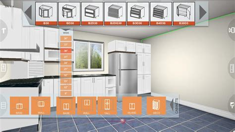 kitchen cabinet planner online udesignit kitchen 3d planner app android su google play