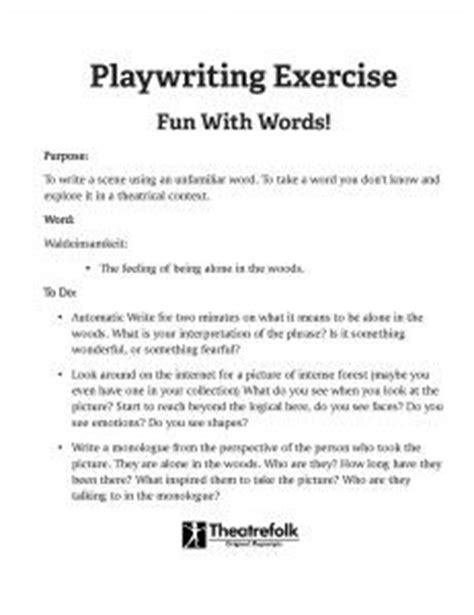 18 best images about playwriting on pinterest fun for