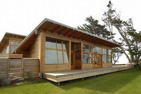 contemporary wooden retreat by johnston architects