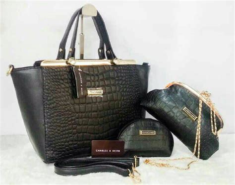 Bag 3in1 Croco new blessfortuneshop