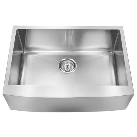 single basin stainless steel undermount kitchen sink franke farmhouse undermount stainless steel 30x20 75x10 18