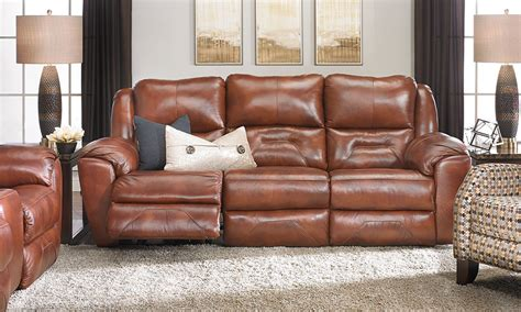 Haynes Furniture Recliners by Rutherford Power Reclining Leather Sofa Haynes Furniture