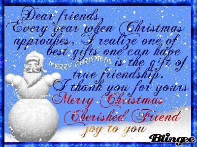 christmas card     dear friends picture  blingeecom