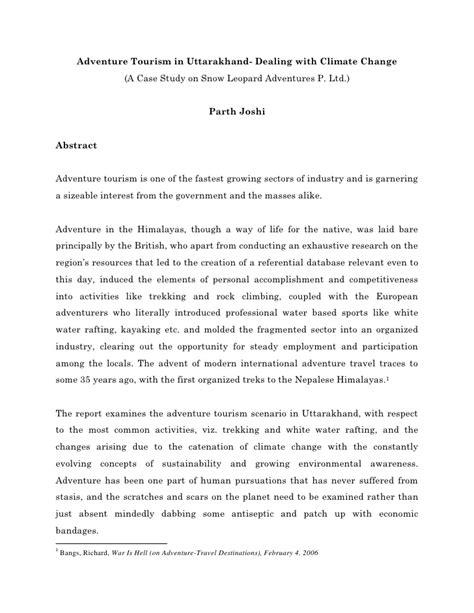 dissertation topics in tourism adventure tourism dissertation topics technicalcollege