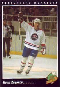 1994 95 greensboro hockey player