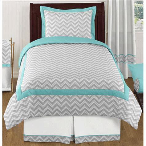turquoise chevron bedding sweet jojo designs zig zag turquoise grey chevron twin