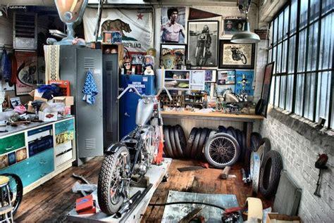 garage workshop perfect for motorcycle storage and still motorcycle garage garages pinterest motorr 228 der