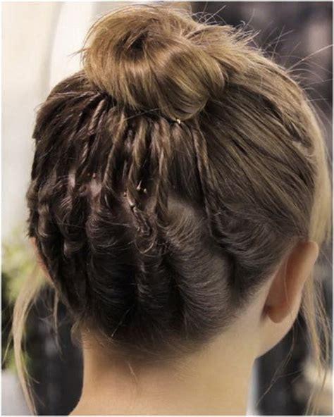 hair in a bun with short hair for black women bun hairstyles for short hair