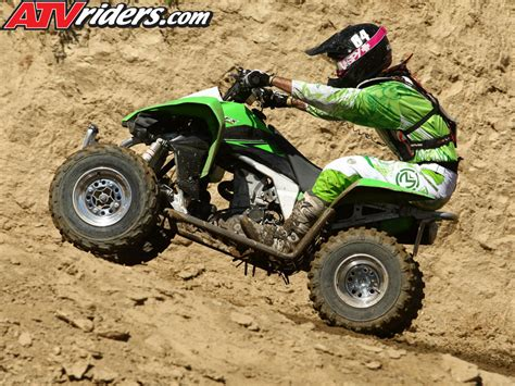 Atv Kawasaki Kfx450r Race 2010 kawasaki kfx 450r atv worcs racing test ride review