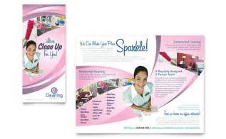cleaning service brochure templates house cleaning services brochure template design