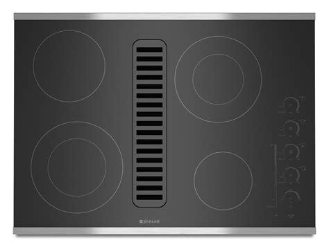 electric cooktop with downdraft bray scarff appliance kitchen specialist