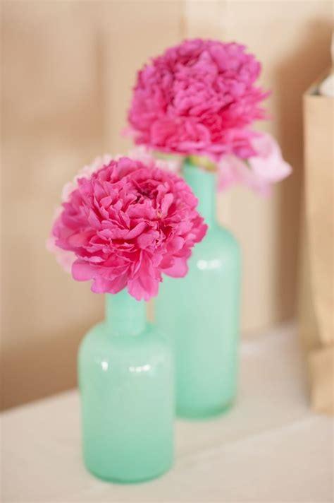 Kate Spade Vases Fresh Mint And Pink Beach Wedding Ideas Beach Wedding Tips