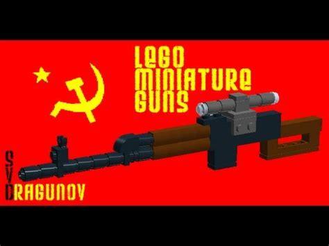 Lego Ausini Svd Sniper 22803 lego miniature guns dragunov sniper rifle