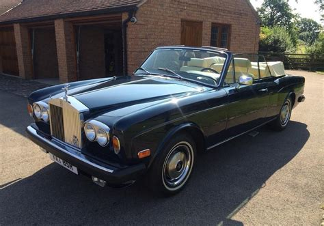 rolls royce corniche convertible used 1977 rolls royce corniche convertible for sale in