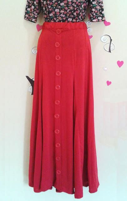 Setelan Blouse Dan Maxi Skirt Nagia Set beli belah blogshop button maxi skirt new
