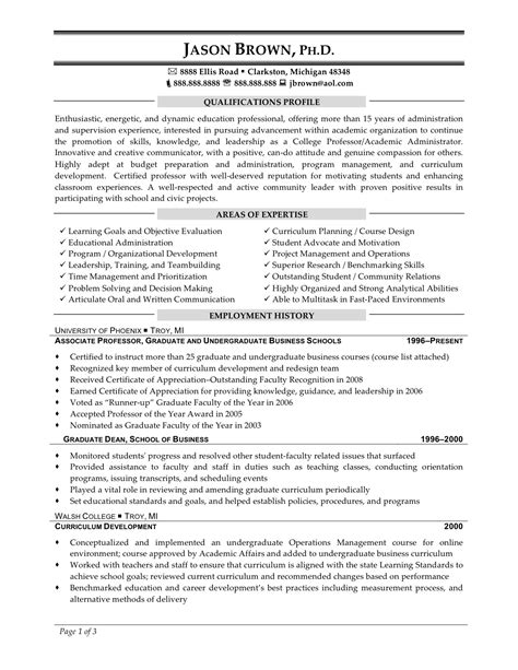 Resume Format For Phd Students sle phd resume for industry sle phd resume for