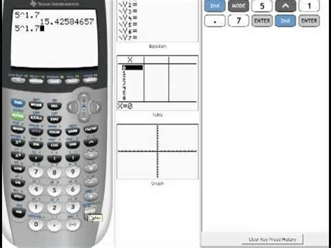 calculator exponential exponents on a calculator 6 3 youtube