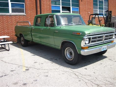 1972 ford f350 for sale always garaged 1972 ford f 350 crew cab for sale
