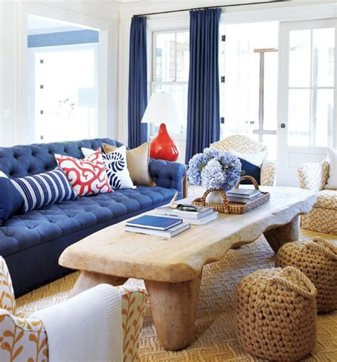 And Navy Living Room by Navy And Coral Living Room Decorchick