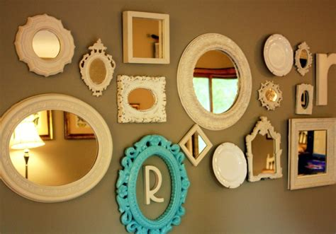 home decor wall mirrors mirror sets wall decor the beauty of mirror wall d 233 cor