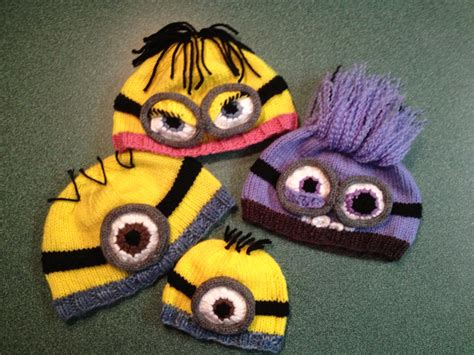 knitting pattern minion despicable me hat despicable me minion hat pattern