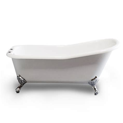 Clawfoot Tub Enclosure Acrylic Slipper Clawfoot Tub Faucet And Shower Enclosure