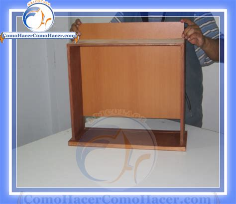 como hacer cajones de madera c 243 mo armar cajones de madera web bricolaje dise 241 o diy