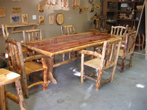 log dining room sets full funky dining room set 171 the log builders
