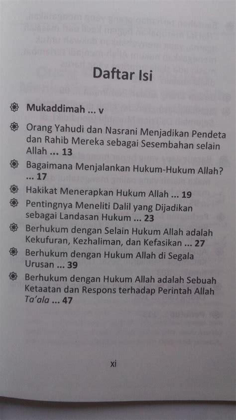Kisah Kisah Shahih Dalam Meraih Berkah Nabi buku bagaimana menerapkan hukum allah