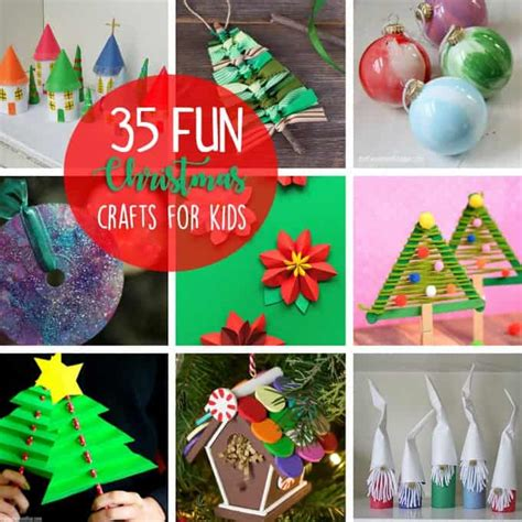 christmas crafts  kids  fun  easy holiday ideas