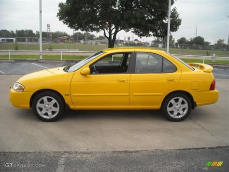 nissan yellow 2006 sunburst yellow nissan sentra 1 8 s special edition