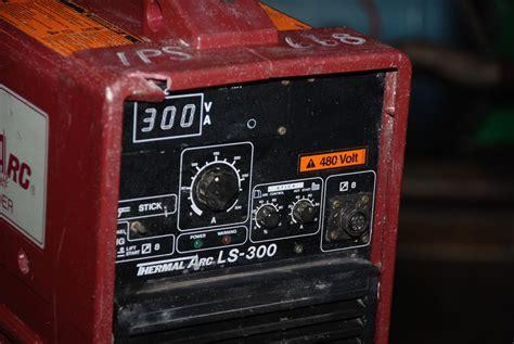 arc ls for sale thermal arc ls 300 stick tig suitcase welder tested