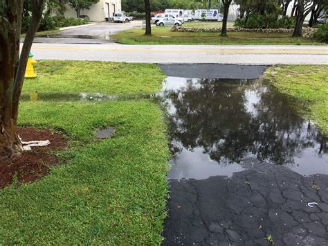 well front yard flooding drainage help needed home
