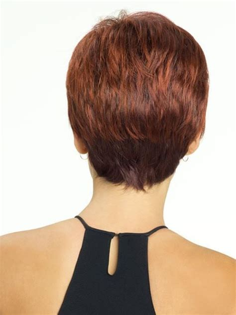 back view of short shag hairstyles shag haircut back view short hairstyle 2013