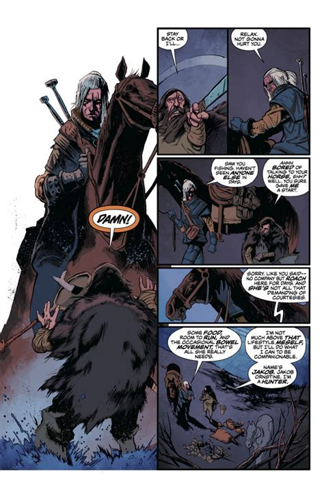 The Witcher Volume 1 look page 2