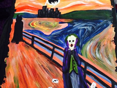 Scream Batman And Joker Iphone All Hp the scream wallpapers 58