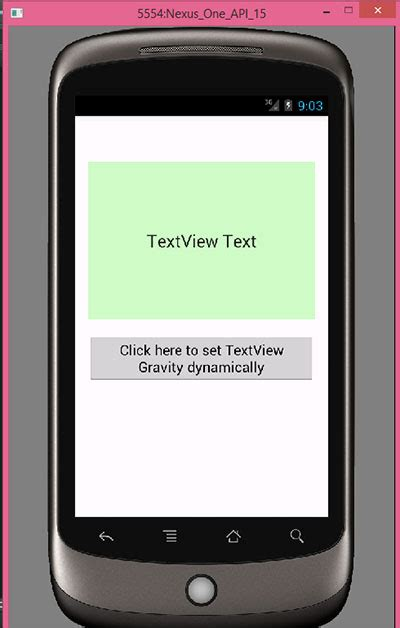 android set layout width programmatically fill parent set textview gravity programmatically in android android