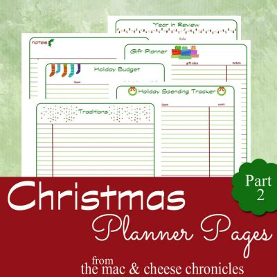 printable planner pages the mac and cheese chronicles all is calm january part 2 the mac and cheese chronicles