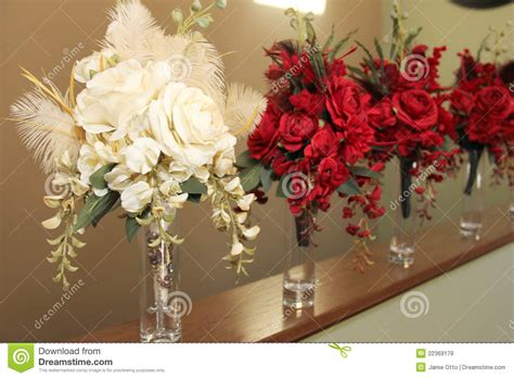 Vases For Bridesmaid Bouquets by Bridal Bouquets In Vases Royalty Free Stock Images Image
