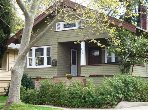 green exterior house paint
