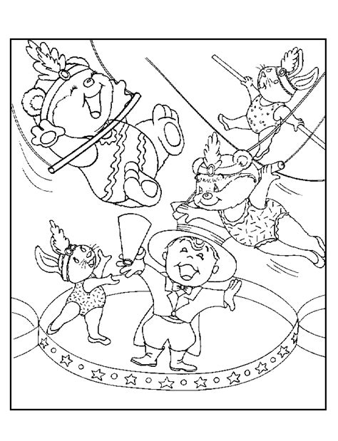 clown coloring pages pdf circus coloring pages coloring home