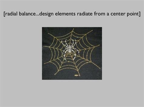 design elements radiate from a center point ncc art100 ch 2
