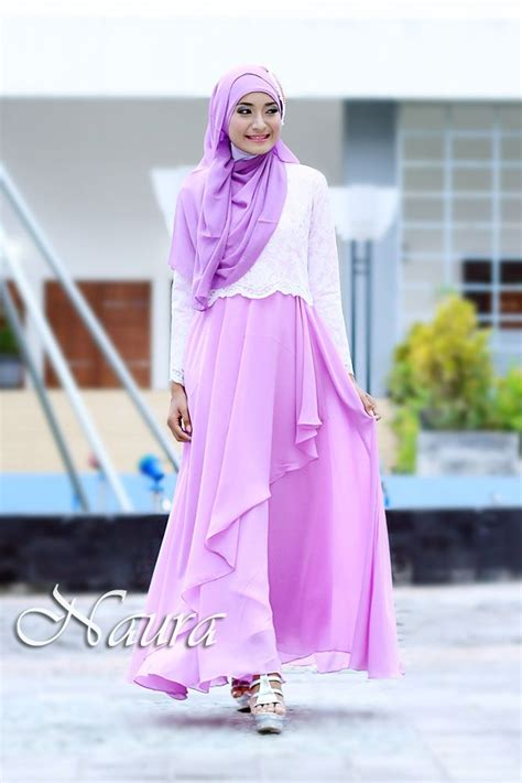 Dress Muslim Catrine Green Byk Warna 37 best images about gamis pesta on wedding fashion and kebaya