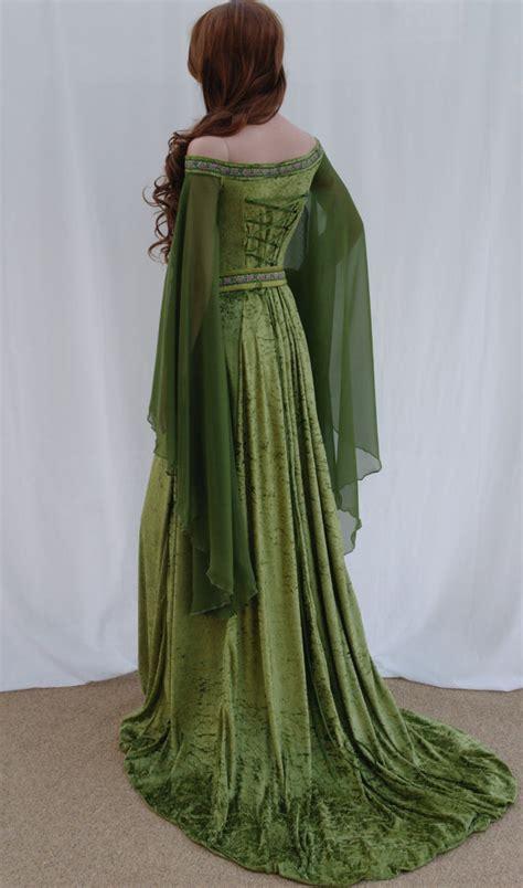 Elvish Home Decor by Elven Vestito Abito Da Sposa Celtica Vestito Di