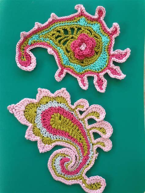 paisley pattern crochet motif 81 best paisley images on pinterest freeform crochet