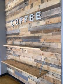 wood pallet accent wall pallet furniture diy